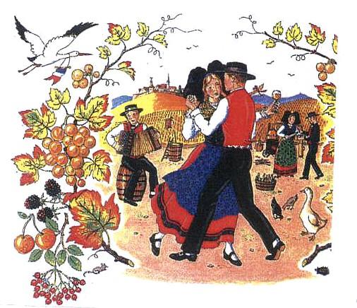 Danse folklorique Alsace