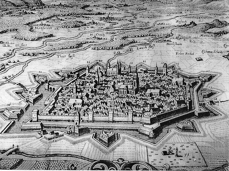 La Ville Impériale de Colmar - Originaux aux Archives Municipales de Colmar – Copies au Musée Historique de Rueil