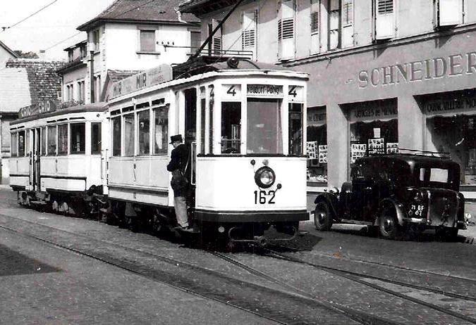 Bischheim - Ancien tram