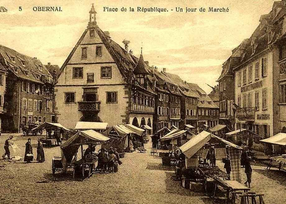 Obernai - Place de la République