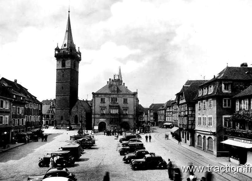 Obernai - Place du marché