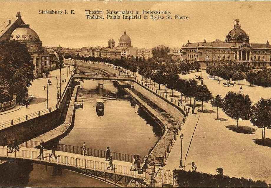 Strasbourg en 1913