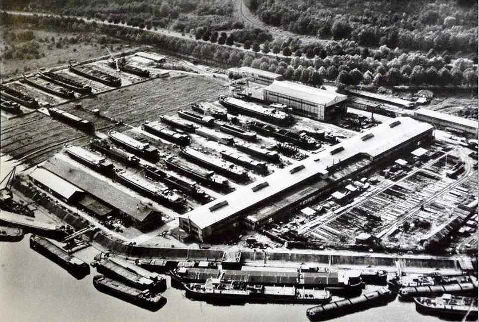 Strasbourg - Chantier naval 1955-1960