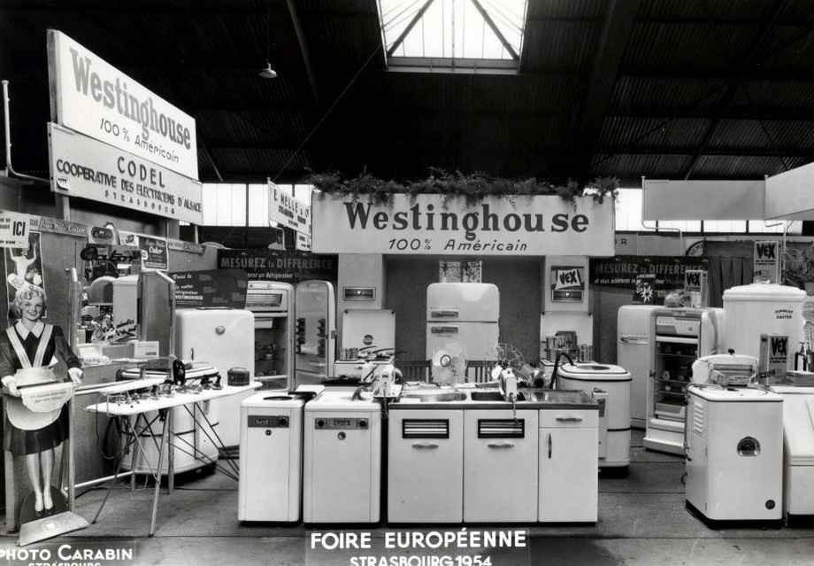 Strasbourg - Foire Européenne en 1954