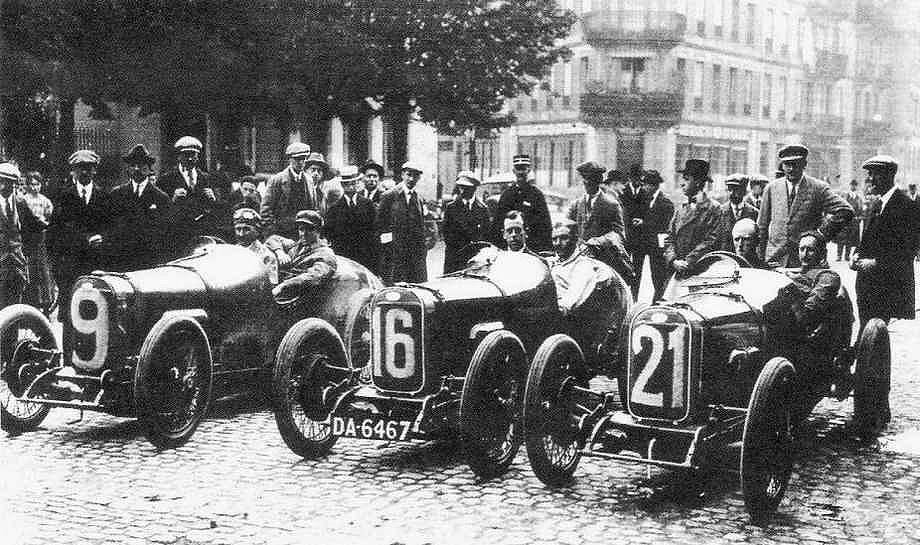Strasbourg - Grand prix de France auto en 1922