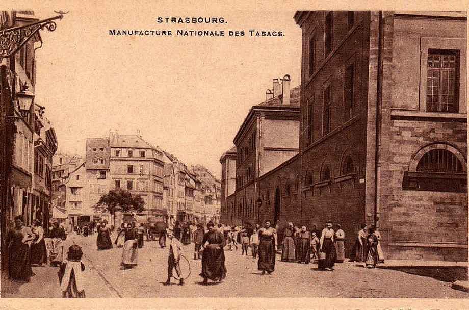 Strasbourg - manufacture nationale des tabacs