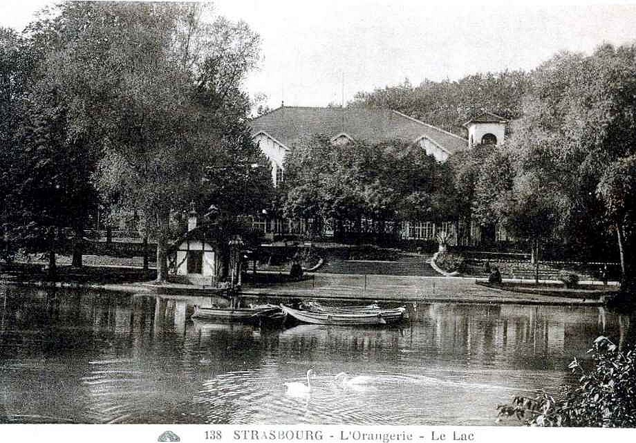 Strasbourg - Orangerie, le lac