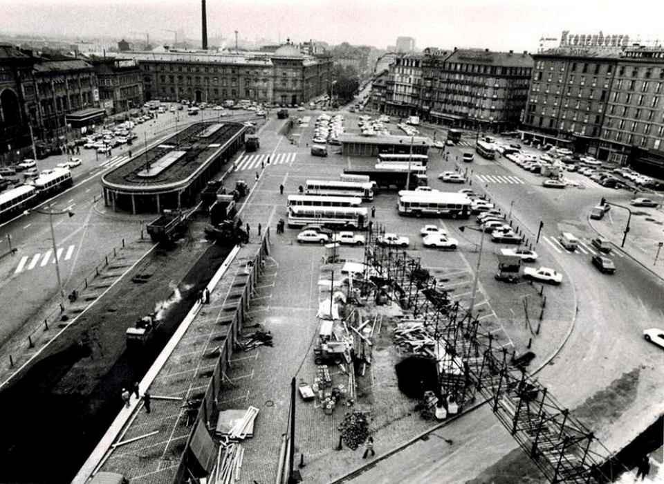 Strasbourg - Place de la Gare en 1960