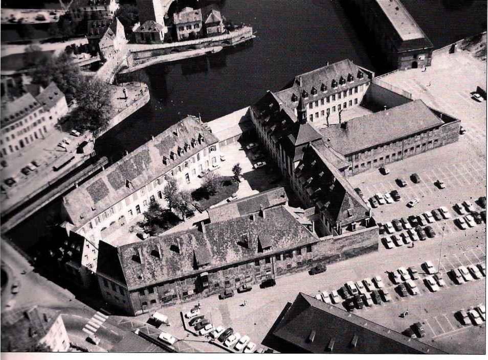 Strasbourg - Prison des femmes Sainte Marguerite devenue l'ENA