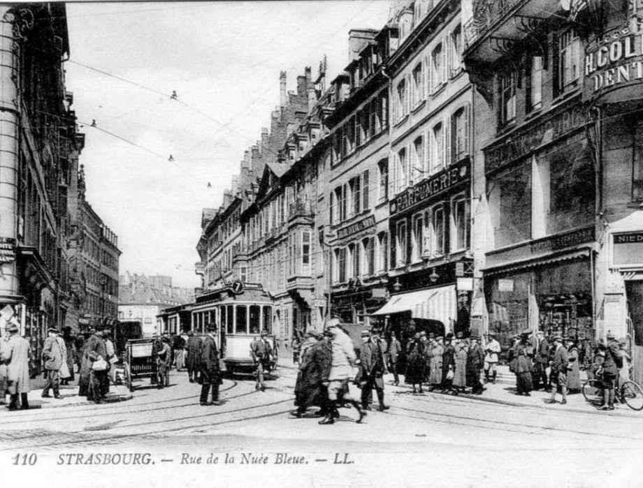 Strasbourg - Rue de la Nuée Bleue
