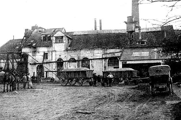 Sucrerie d'Erstein en 1900