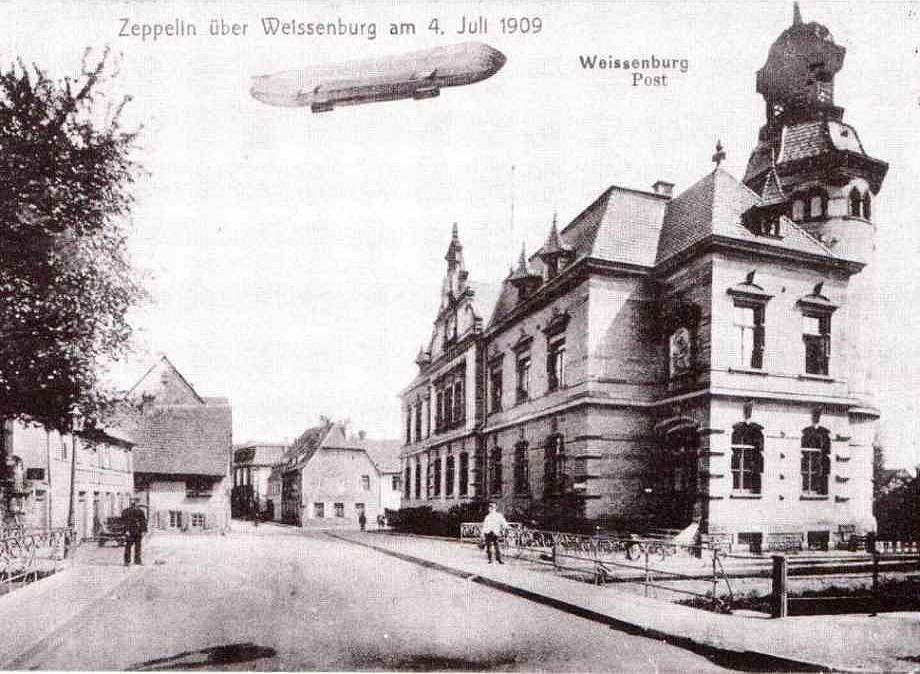 Wissembourg - la Poste - 1909