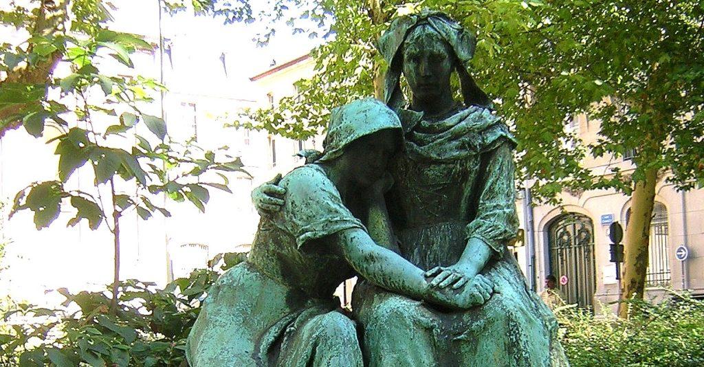monument des Deux Sœurs Alsace Lorraine